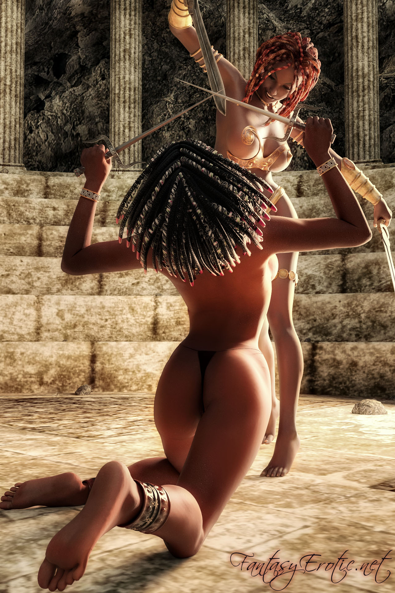 Erotic warrior woman porn pictures