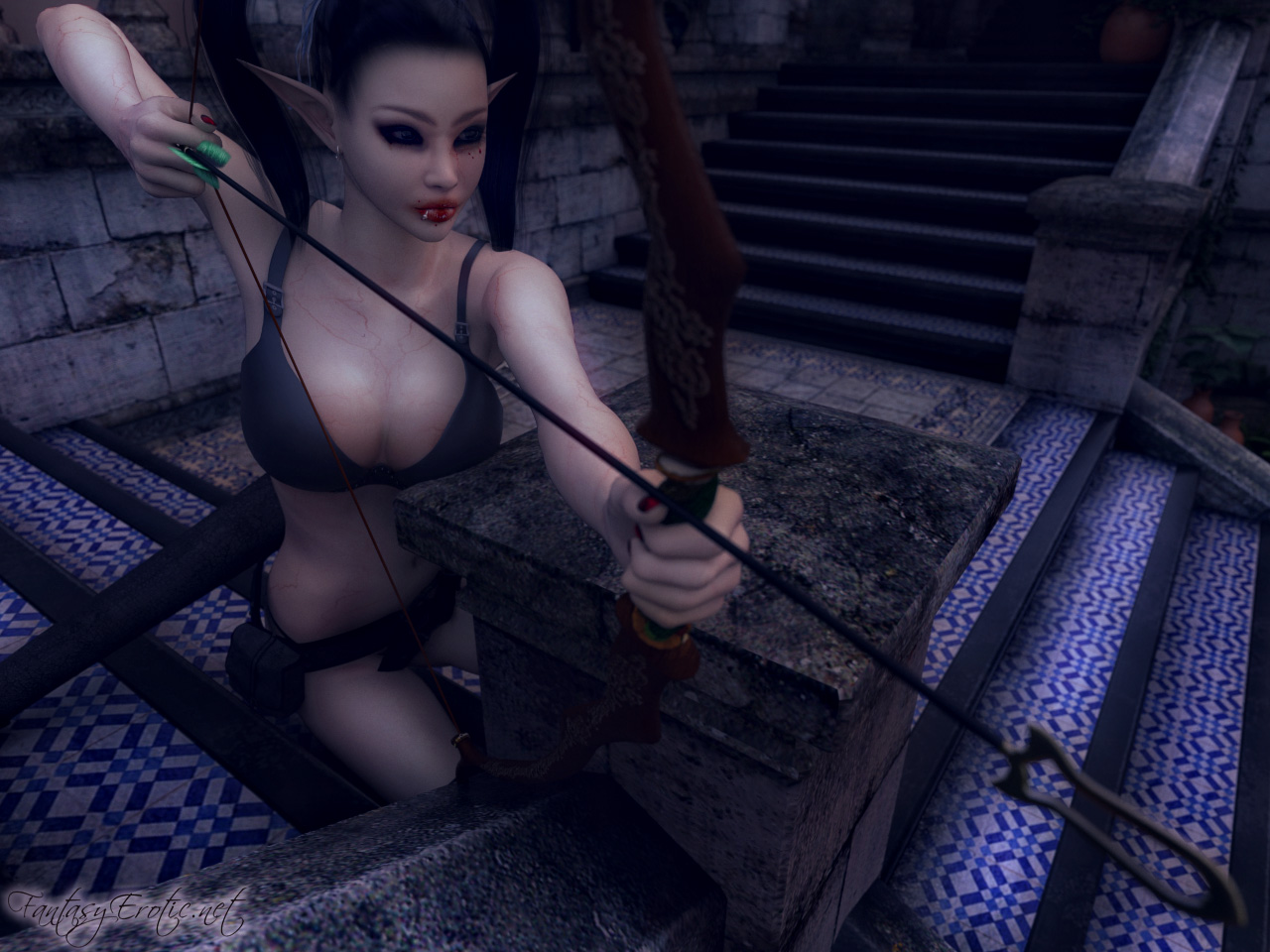 Nude elven archer nudes videos