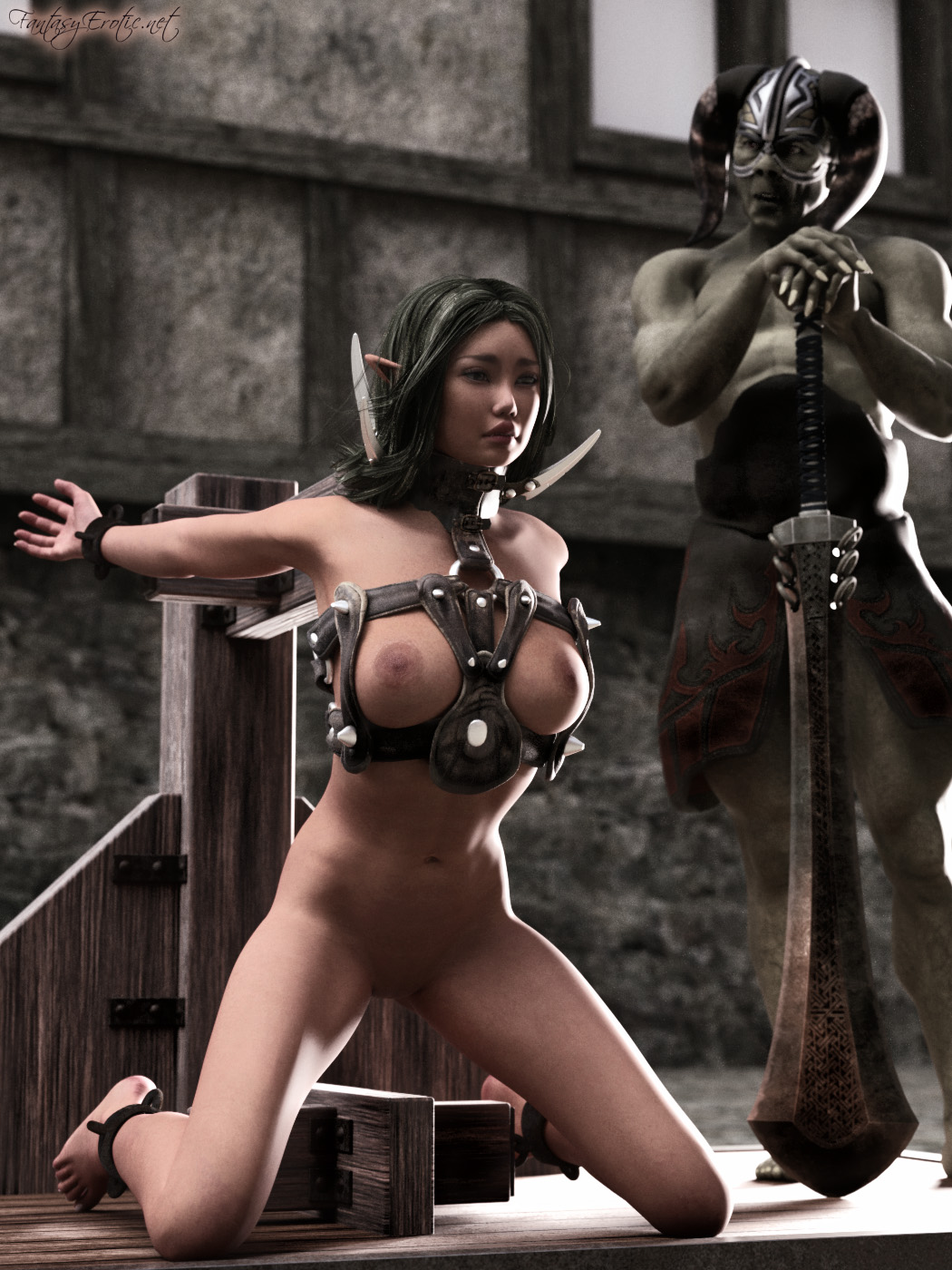 Porn warrior erotic female