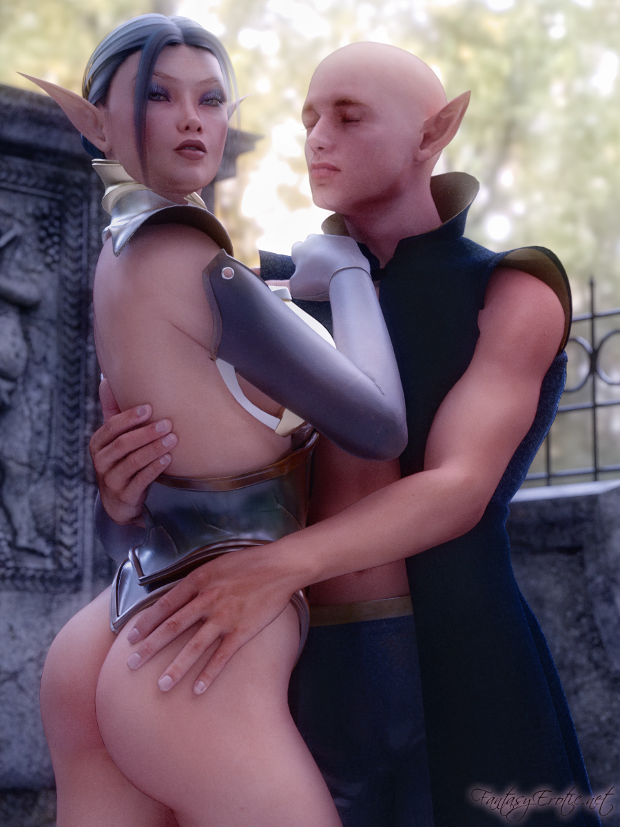 Mirella and Eonar - Elvish Couple