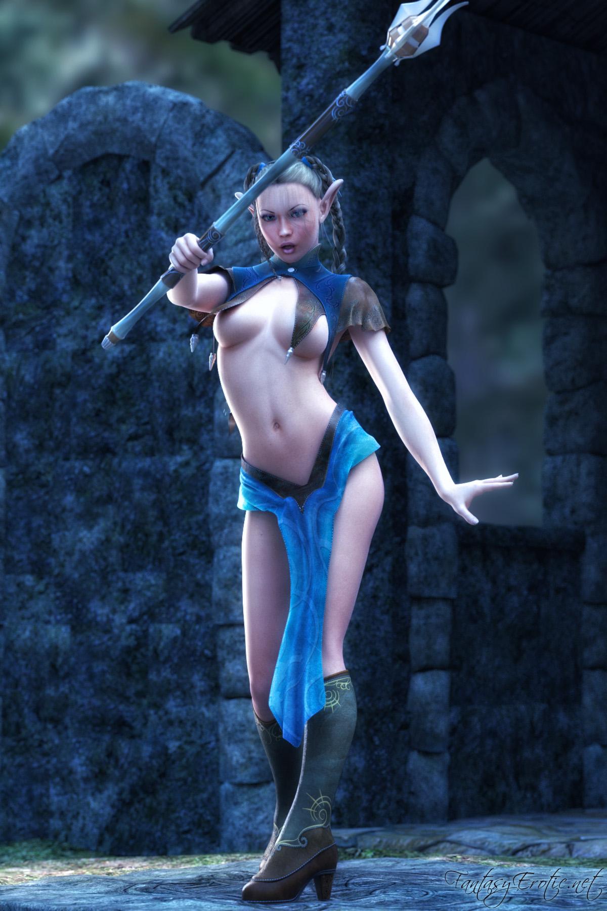 Sexy Elf Mage