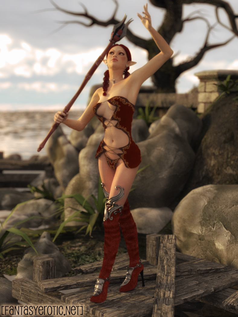 Elf Eelovah on Island