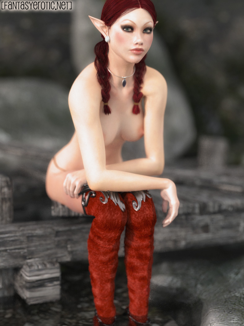 Elf Eelovah on Island topless