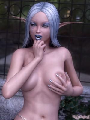 Nude Elf Pinup