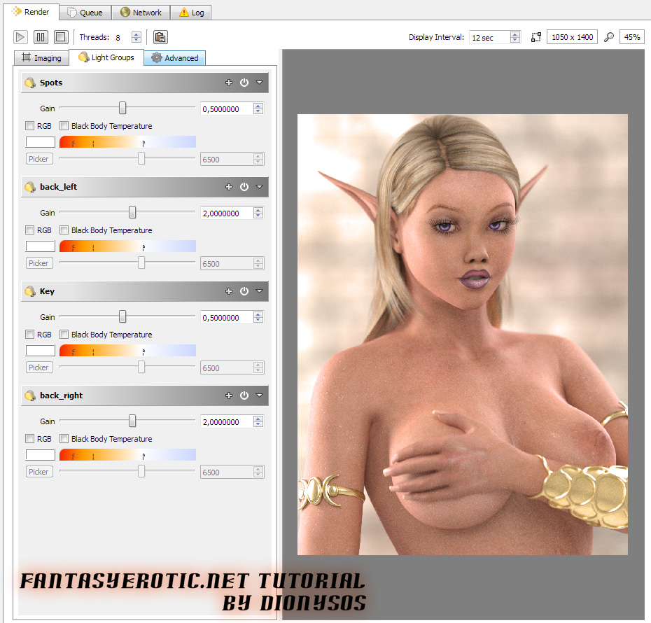 Saroyee Lurender Tutorial Fantasyerotic