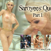 Saroyee's Quest – Part 1 – Adult Graphic Novel