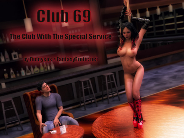 Club 69 - Adult Graphic Novel