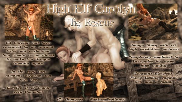 High Elf Carolyn - The Rescue