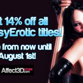 14% for 14 Days Sales at Affect3D