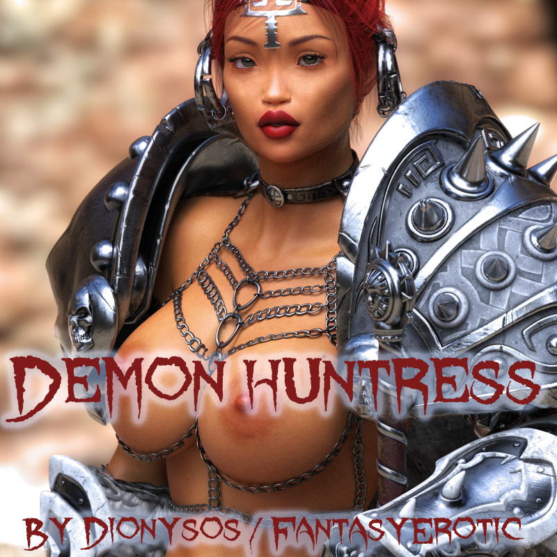 Demon Huntress Cover-Main