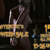 Renderotica Halloween Sale