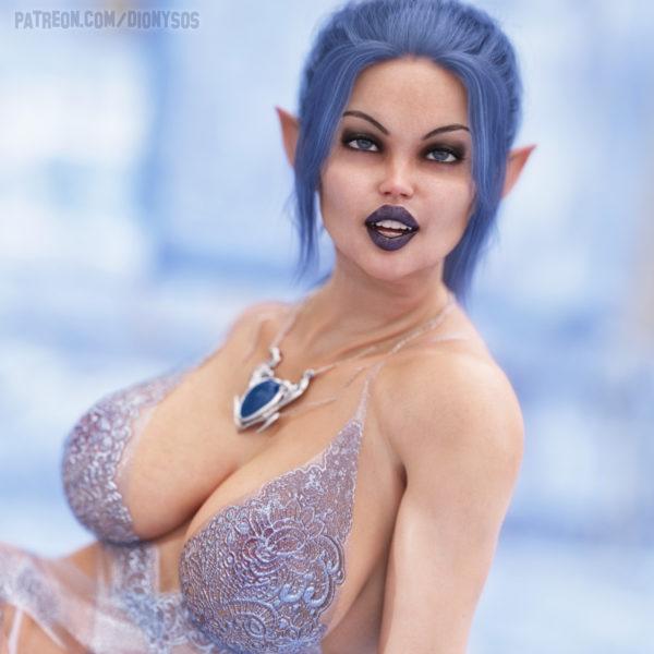 Busty Elf Berina