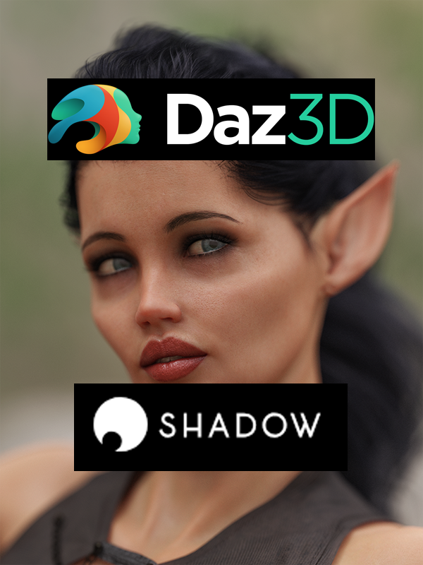 Daz Studio and Nvidia Iray on Shadow Tech Blade
