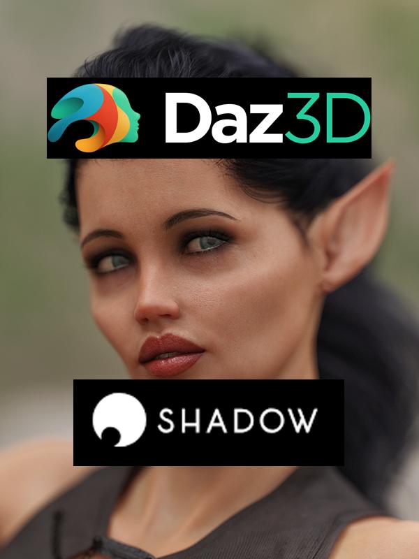 Daz Studio and Nvidia Iray on Shadow Tech Blade