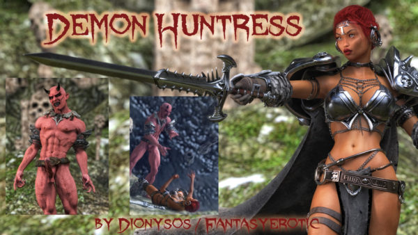 Demon Huntress Comic