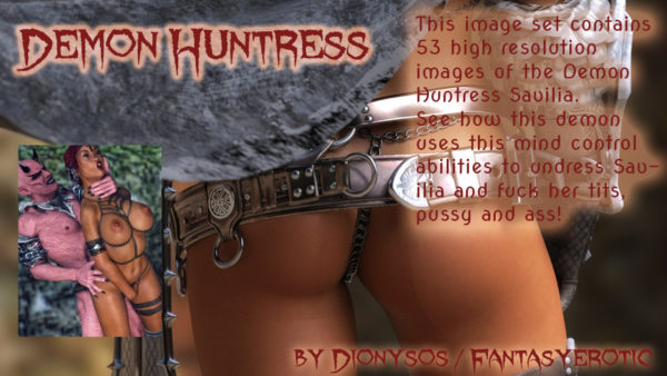 Demon Huntress Comic Promo