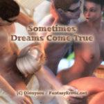 Sometimes dreams come true - Cover Adult comic