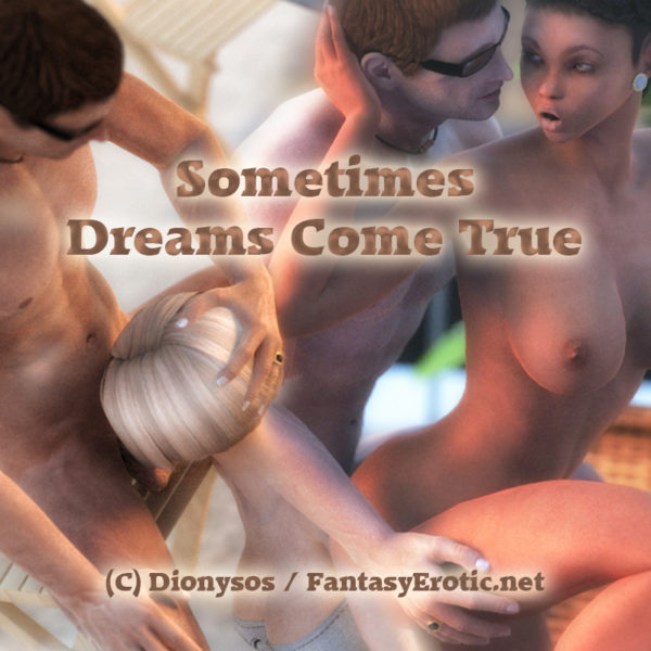 Sometimes dreams come true - Cover Adult comic