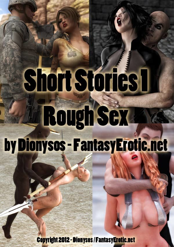 Short Stories 1 - Rough Sex - Cover
