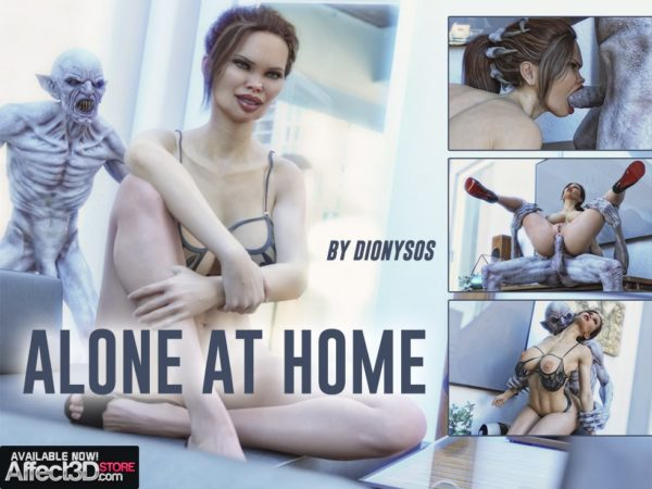 Graphic Novel Alone At Home