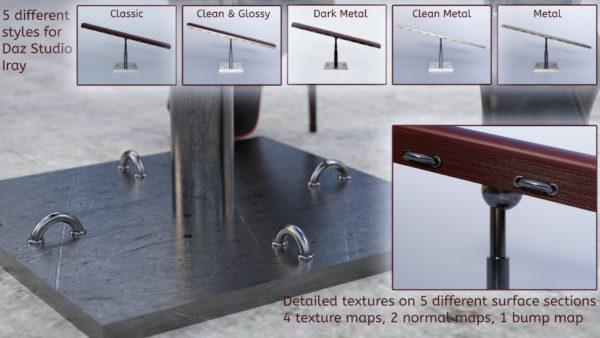 Bondage Board Nvidia Iray Materials