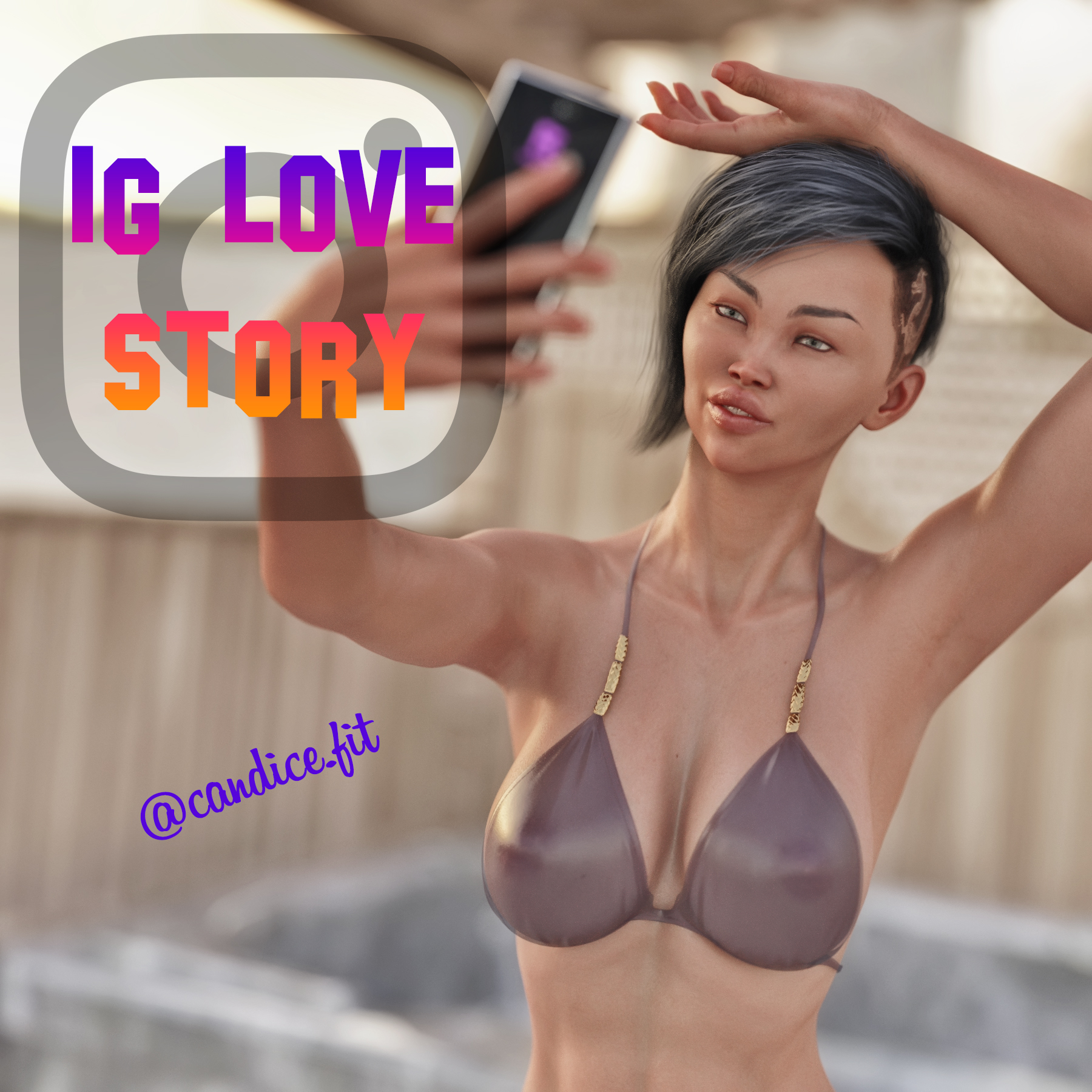 IG Love Story Adult Comic