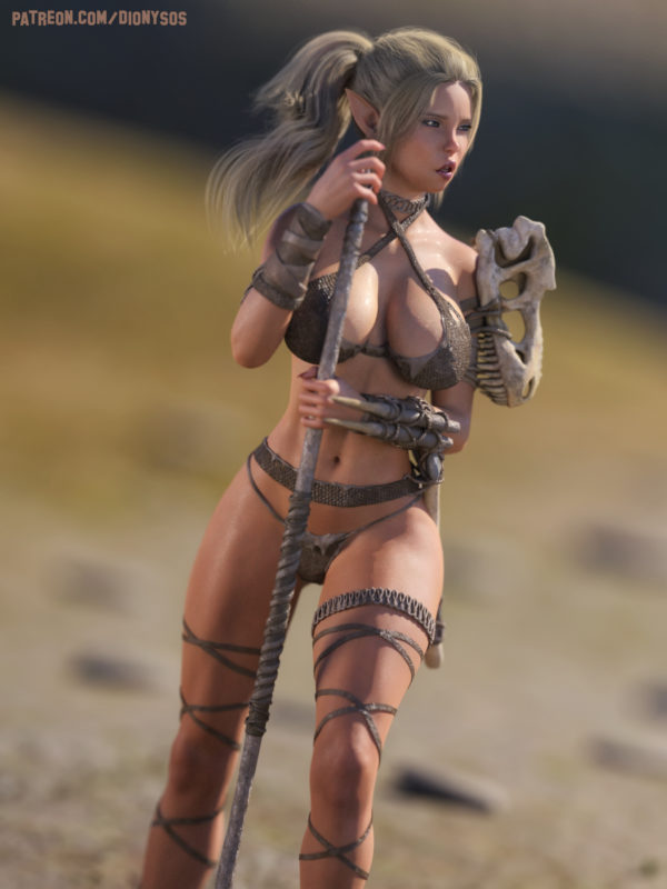 Elf Mylin Warrior
