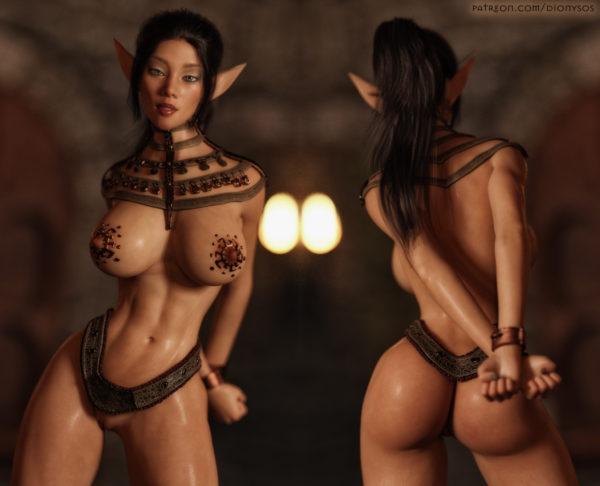 Elf slave Nia