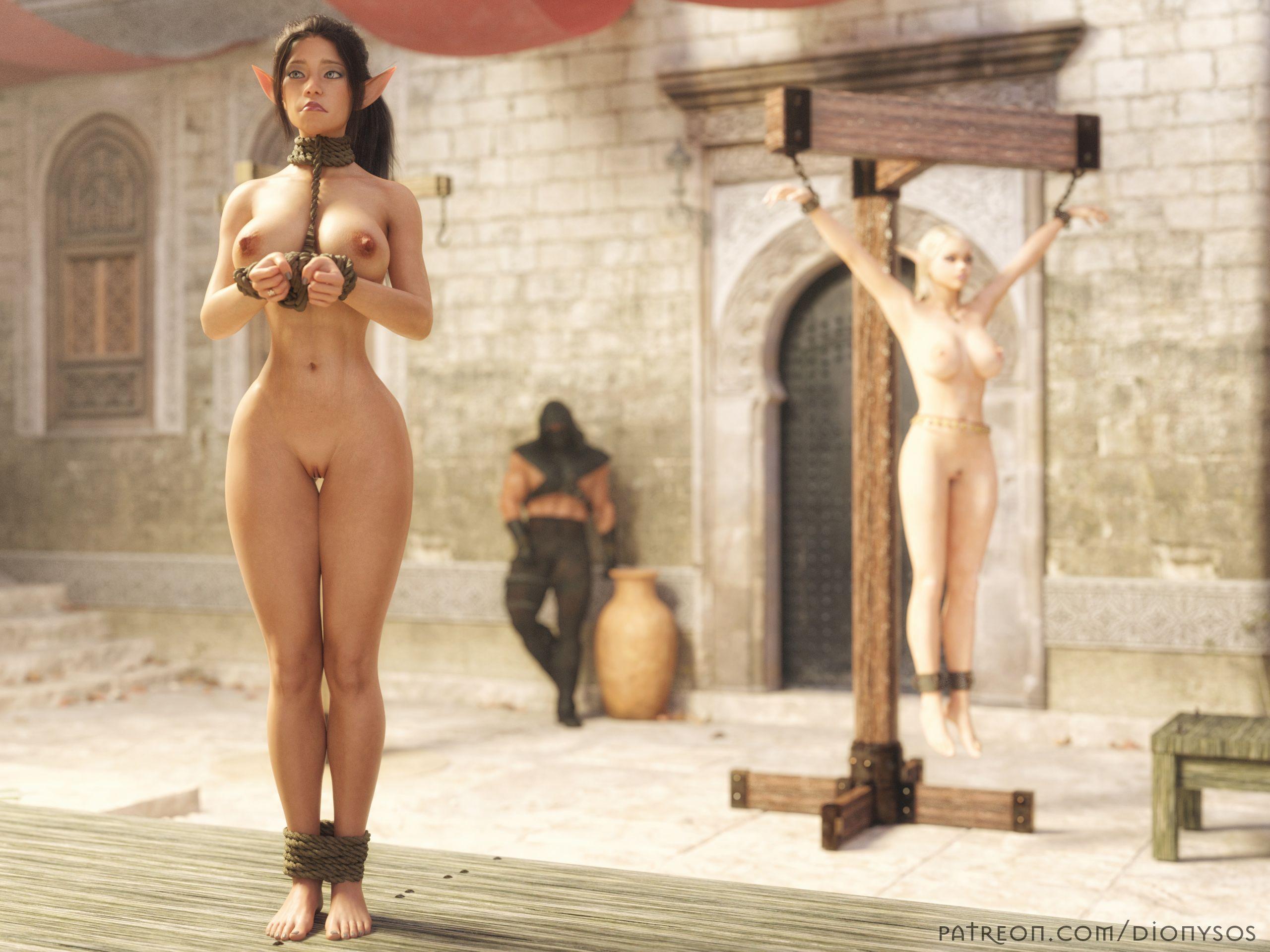 Elf Nia Slave Market