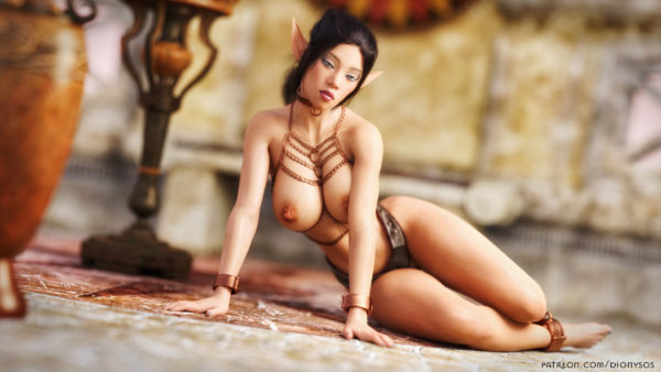 Elf Nia QHD Wallapaper FantasyErotic