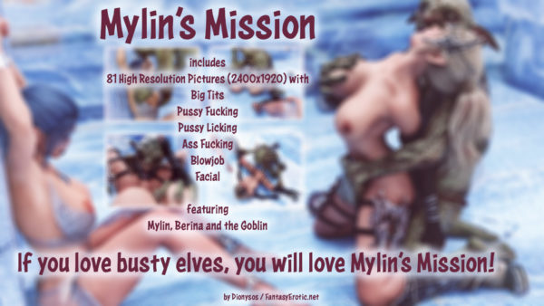 Bust Elf Mylin's Mission