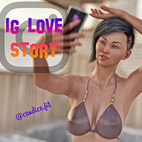 Adult Graphic Novel Instagram Love Story