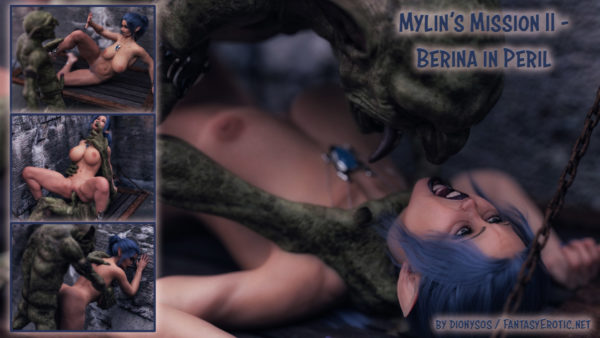 Adult Graphic Novel Mylins Mission 2 - Promo