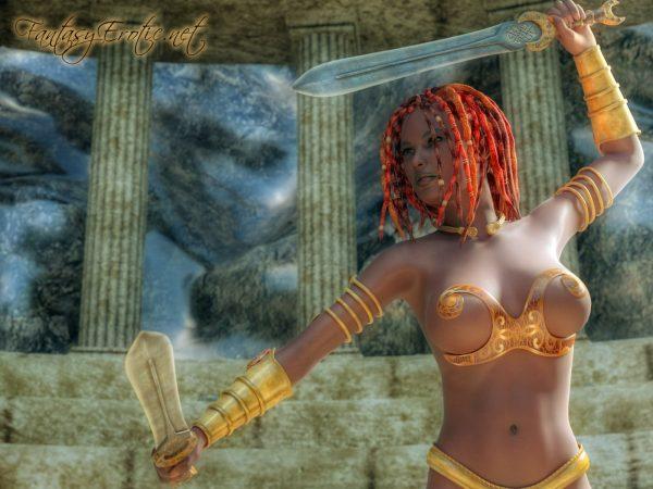 Shaleena Fighter Opponent