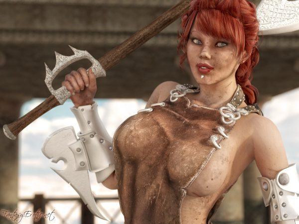 Sexy Warrior Assassin