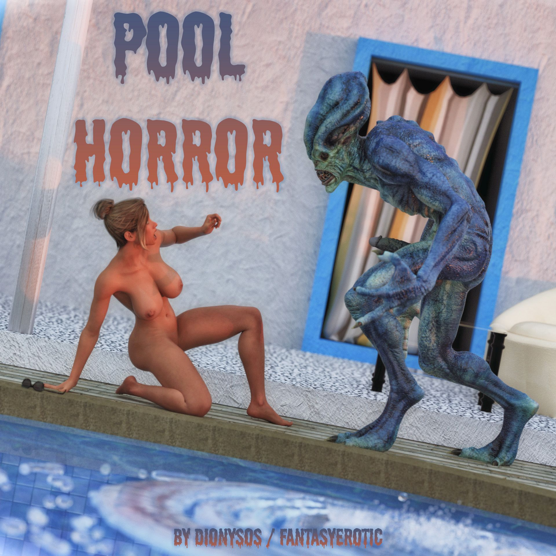 Pool Horror - Monster Sex Cover