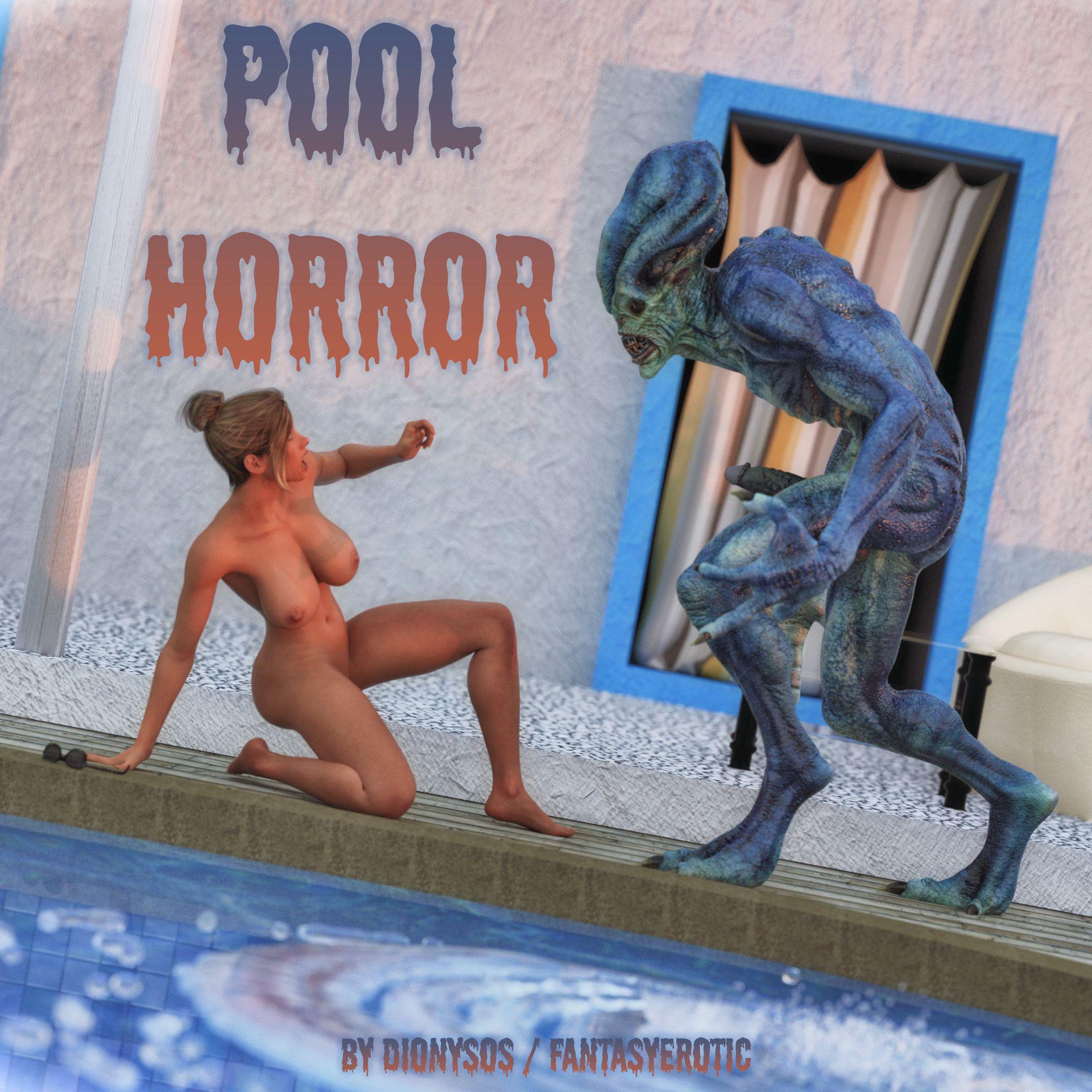 Pool Horror - Monster Sex Cover