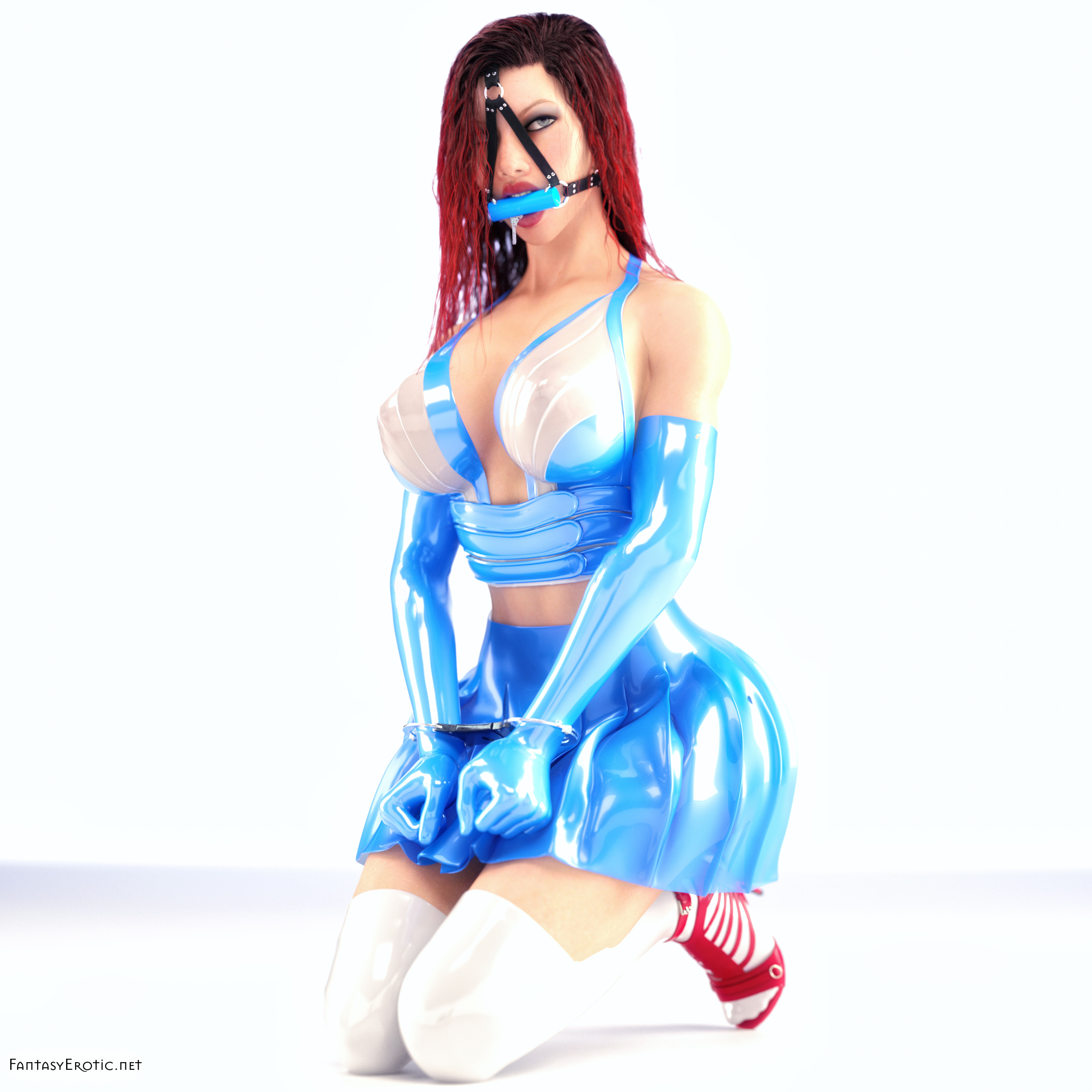 Highkey Fetish Fashion in Daz3D