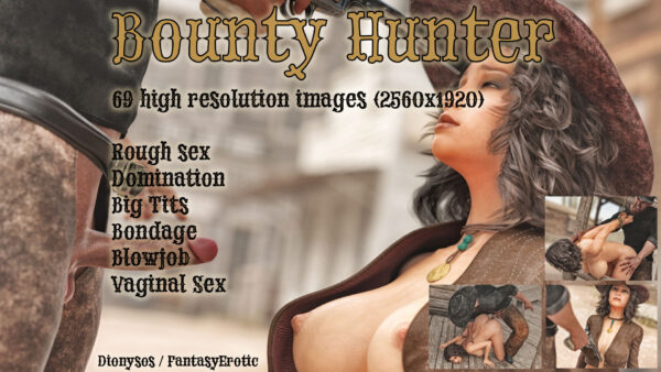 NSFW Graphic Novel Bounty Hunter Promo