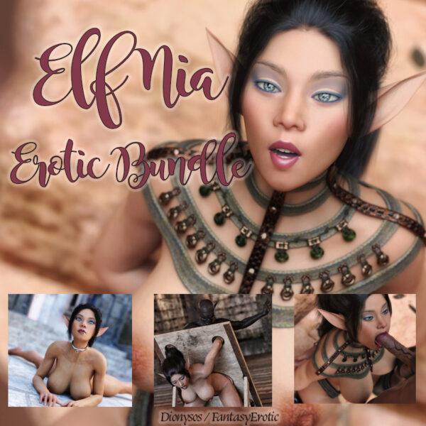 Elf Nia Erotic Image Bundle